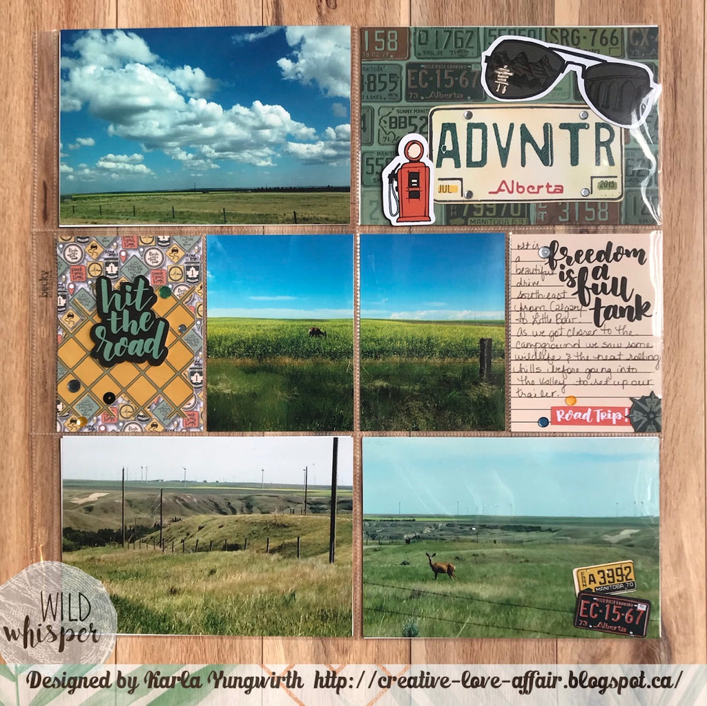 Road Trip ADVNTR Pocket Pages by Karla