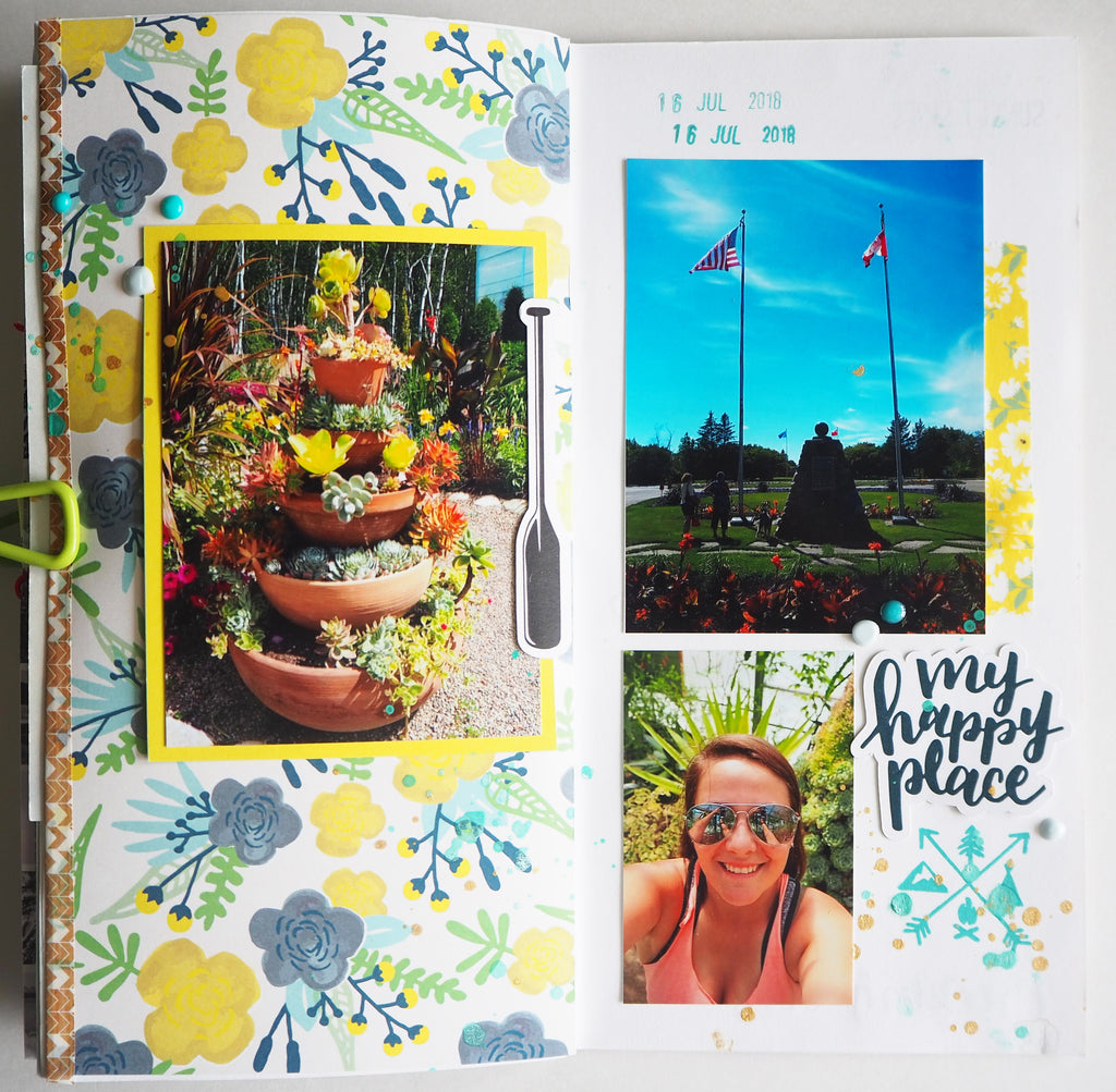 Lake Life Notebook by Heather