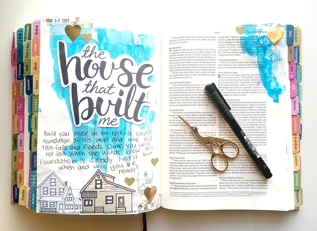 Tori shares a Bible Journal Process Video!
