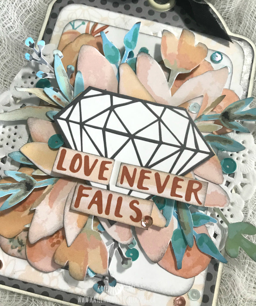 Love Never Fails Tag by Katelyn G