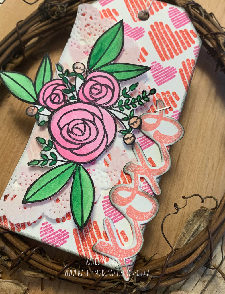 xoxo Gift Tag by Katelyn
