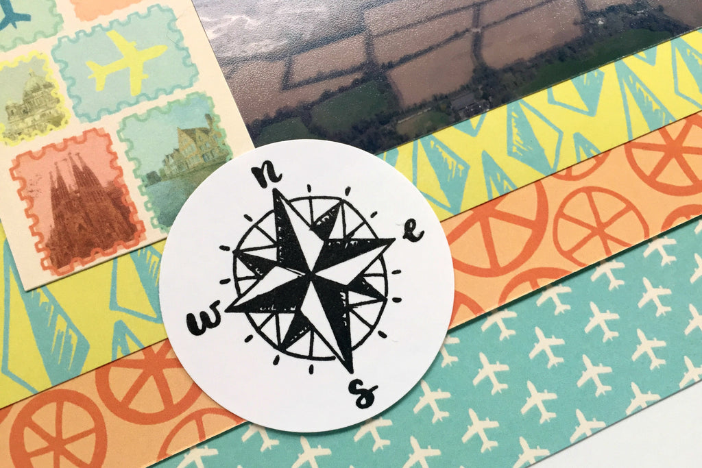Alexandria uses Pocket Cards and Stamping on her Layout