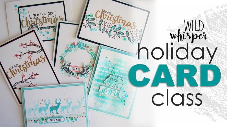 Holiday Card Class on December 12th - Calgary, AB