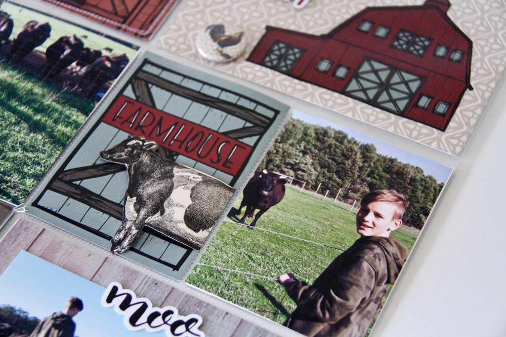 Farmhouse Collection | Project Life | A day on the Farm | Rachel Lowe