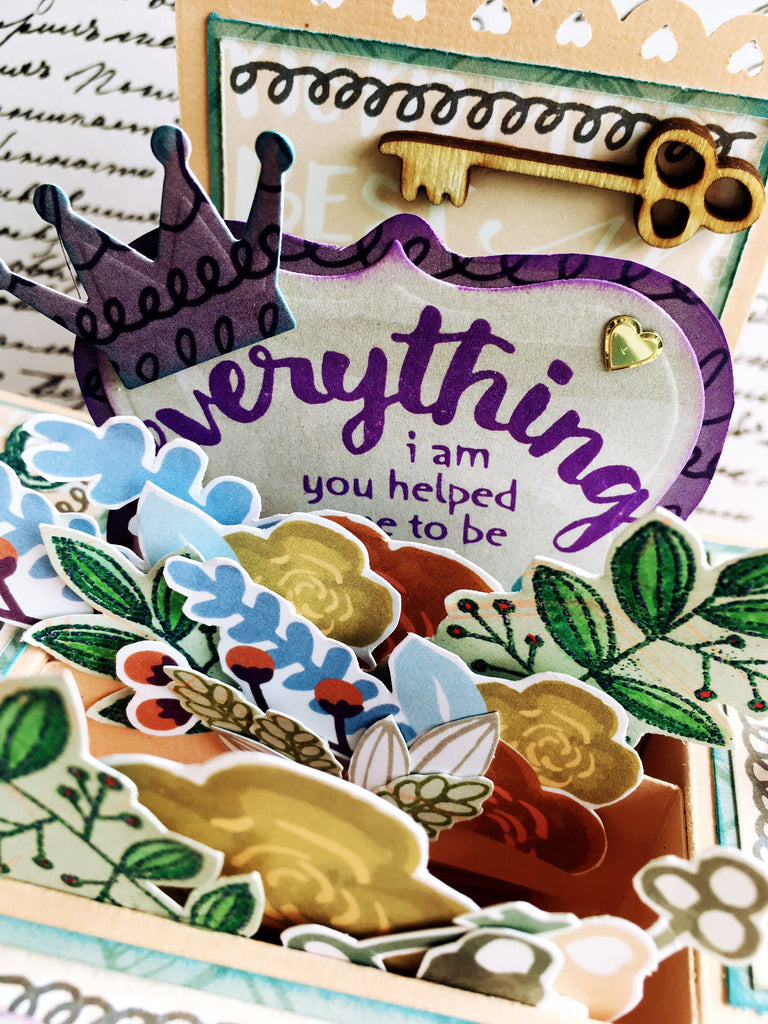 Karla shares Folding Box Cards with the Brand New Collection!