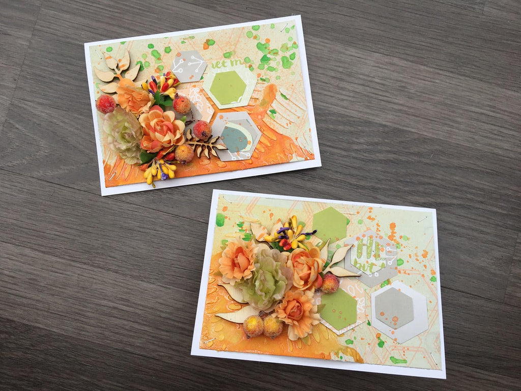 Guest Designer Ewelina with 2 Cards