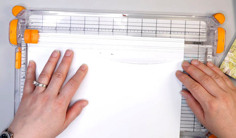 Cutting Paper to Size for Traveler's Notebook