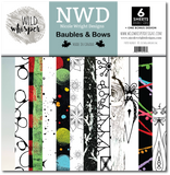 Nicole Wright Baubles & Bows - 12x12 Paper Pack