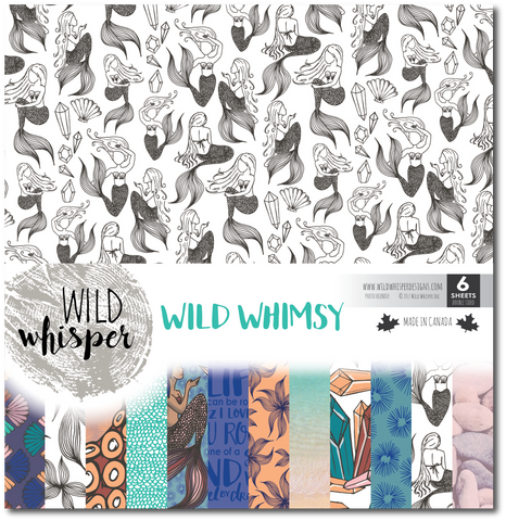 Wild Whimsy - 12x12 Paper Pack