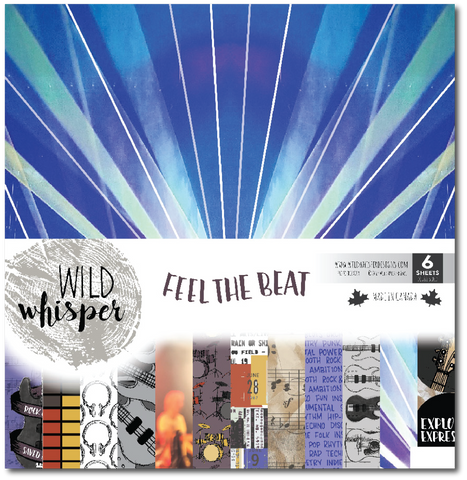 Feel the Beat - 12x12 Paper Pack