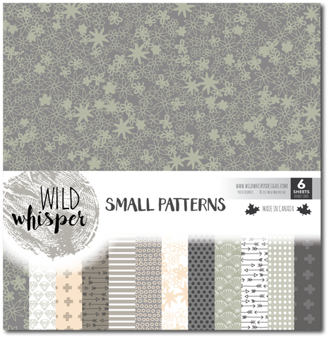 Small Patterns - 12x12 Paper Pack