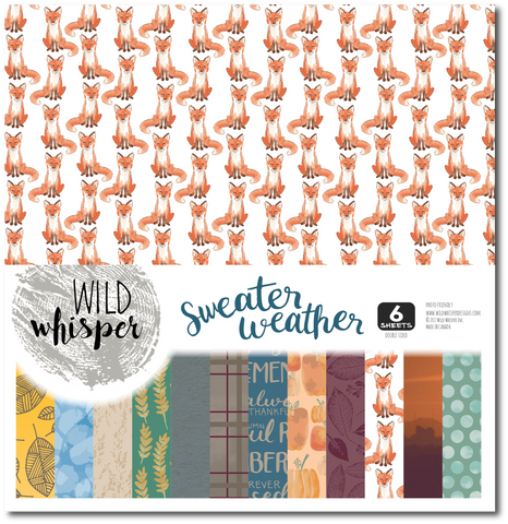 Sweater Weather 12x12 Paper Pack