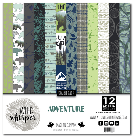 Adventure - DOUBLE 12x12 Paper Pack