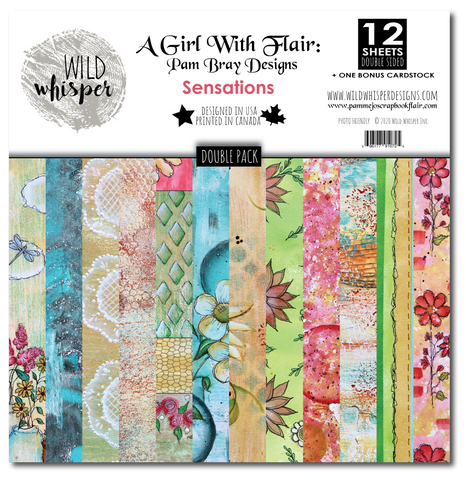 Pam Bray Sensations - DOUBLE 12x12 Paper Pack