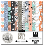 Happy Tails - DOUBLE 12x12 Paper Pack
