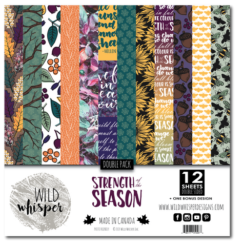 Strength of the Season - DOUBLE 12x12 Paper Pack