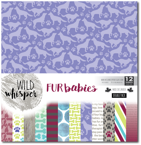 Fur Babies - DOUBLE 12x12 Paper Pack