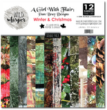 Pam Bray - Winter & Christmas DOUBLE 12x12 Paper Pack