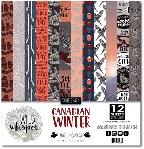 Canadian Winter - DOUBLE 12x12 Paper Pack
