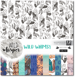 Wild Whimsy - DOUBLE 12x12 Paper Pack
