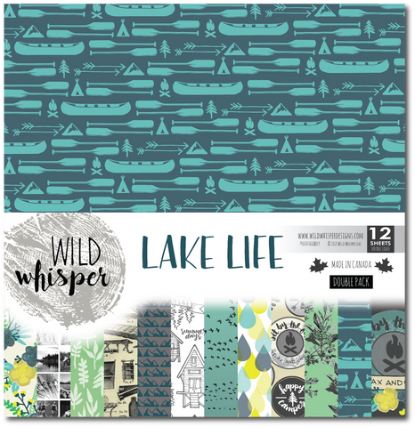 Lake Life - DOUBLE 12x12 Paper Pack