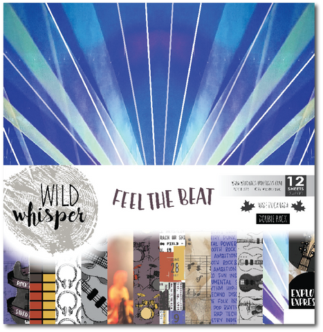 Feel the Beat - DOUBLE 12x12 Paper Pack