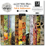 Pam Bray - Fall & Halloween DOUBLE 12x12 Paper Pack