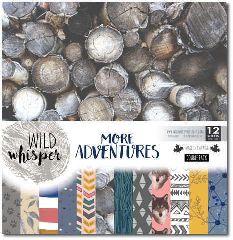 More Adventures - DOUBLE 12x12 Paper Pack