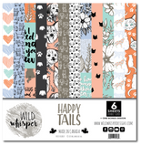 Happy Tails - 12x12 Paper Pack