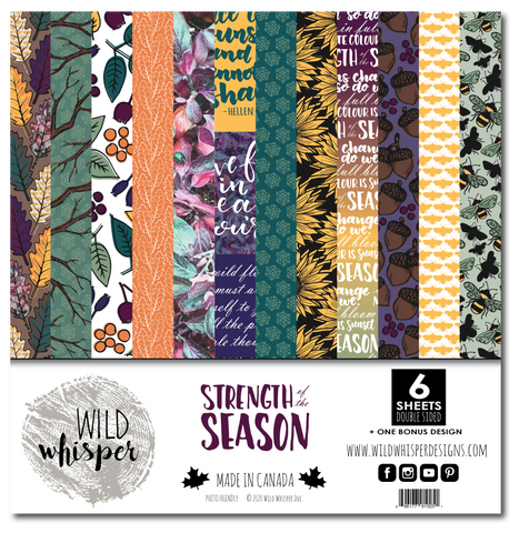 Strength of the Season - 12x12 Paper Pack