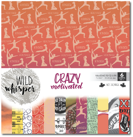 Crazy Motivated - 12x12 Paper Pack