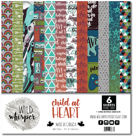 Child At Heart - 12x12 Paper Pack