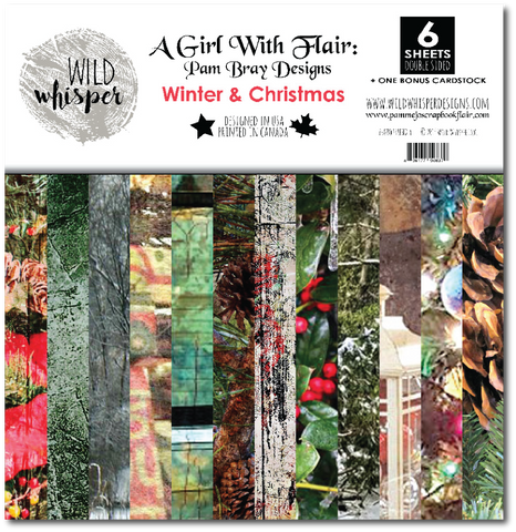 Pam Bray - Winter & Christmas 12x12 Paper Pack