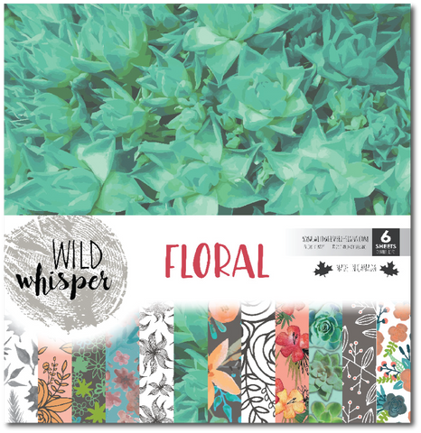 Floral - 12x12 Paper Pack