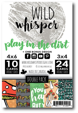 Play in the Dirt - DOUBLE Card Pack