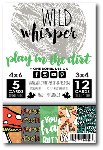 Play in the Dirt - Card Pack