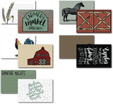 Farmhouse - Card Pack