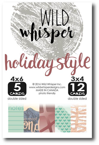 Holiday Style Card Pack