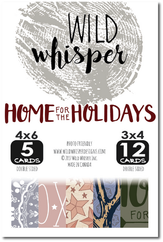 Home for the Holidays Card Pack