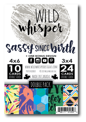 Sassy Since Birth - DOUBLE Card Pack