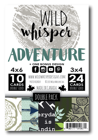 Adventure - DOUBLE Card Pack