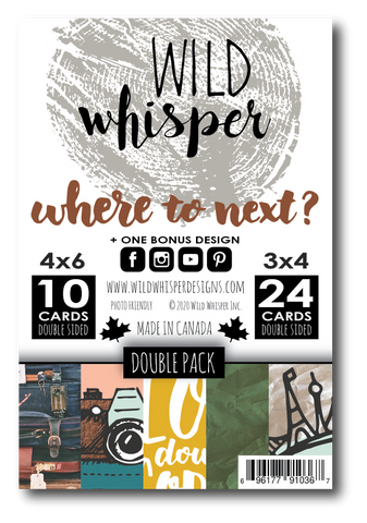 Where to Next? - DOUBLE Card Pack