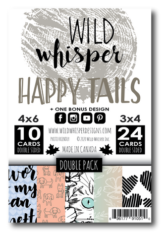 Happy Tails - DOUBLE Card Pack