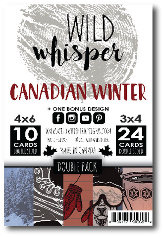 Canadian Winter - DOUBLE Card Pack