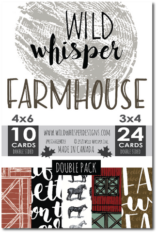 Farmhouse - DOUBLE Card Pack