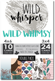 Wild Whimsy - DOUBLE Card Pack