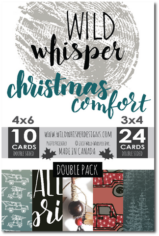 Christmas Comfort - DOUBLE Card Pack