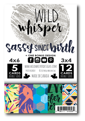 Sassy Since Birth - Card Pack