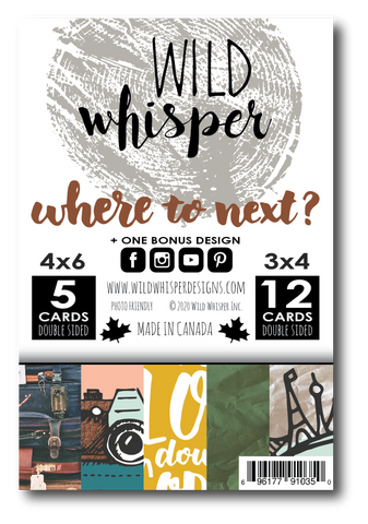 Where to Next? - Card Pack