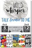 Talk Foodie To Me - Card Pack